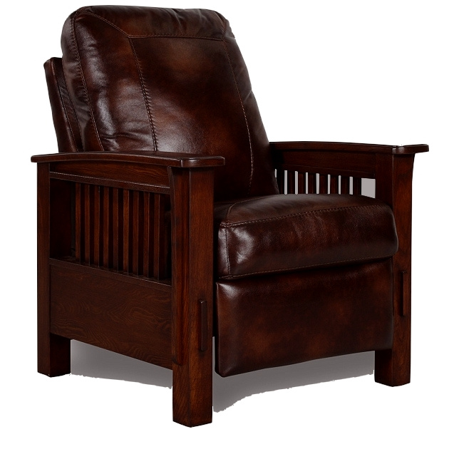 leather mission chair 1