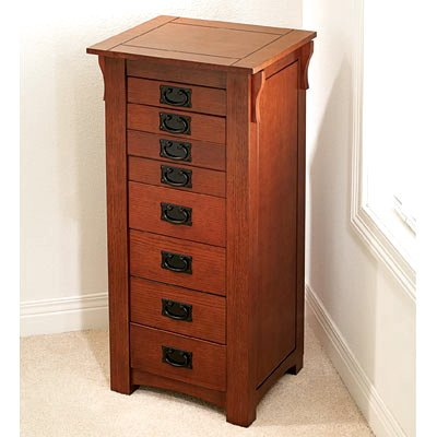 craftsman furniture. mission craftsman oak jewelry armoire view images furniture