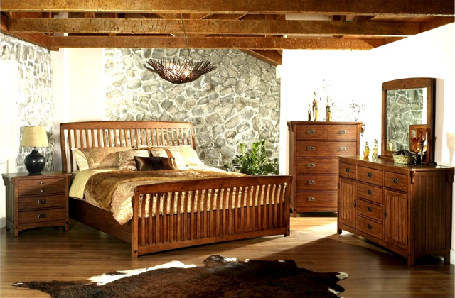 Bedroom furniture mission furniture craftsman furniture for Mission style bedroom furniture