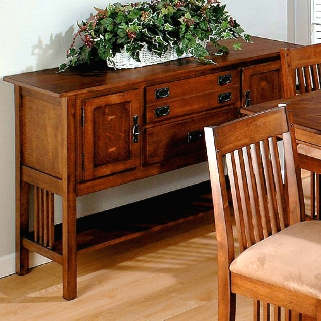 Craftsman Mission Oak Buffet Server Sideboard. View Images