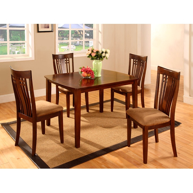 Mission Shaker Walnut 5pc Dining Set. View Images