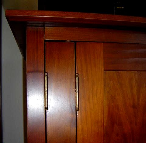 living room armoire on Mission Furniture Shaker Craftsman Furniture