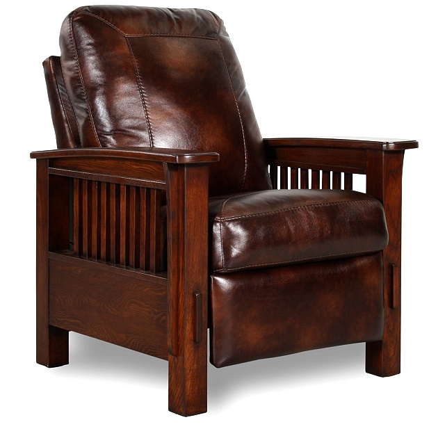 Lane Furniture Leather Recliners ... +Style+Leather+Recliner Mission_Craftsman_Morris_Leather_Recliner.JPG