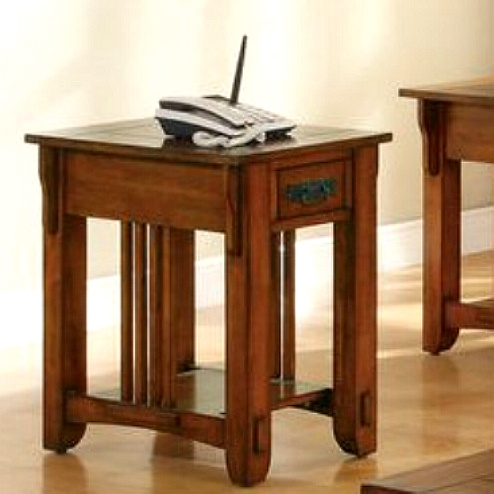 Merveilleux Oak Hardwood Mission Style Side Table. View Images