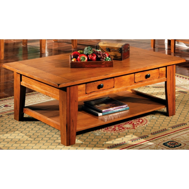 Shaker Cottage Mission Oak Coffee Table View Images