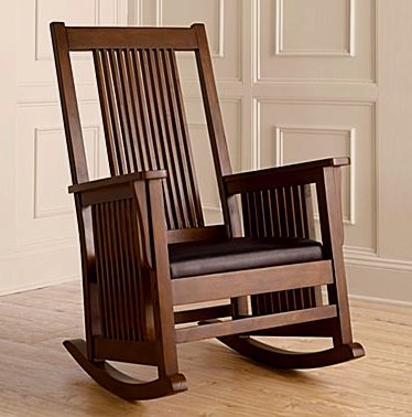 Craftsman Mission Rocking Chair. View Images
