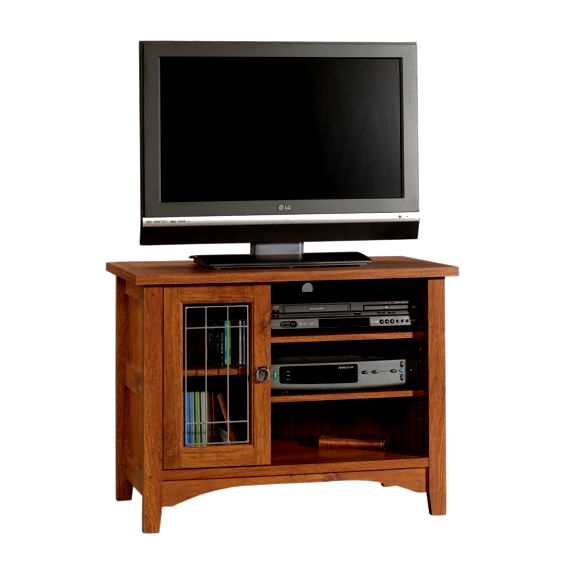 Mission furniture living room for Mission style entertainment center plans