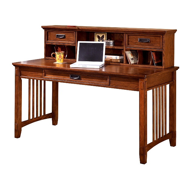 style desk with hutch office furniture mission furniture craftsman