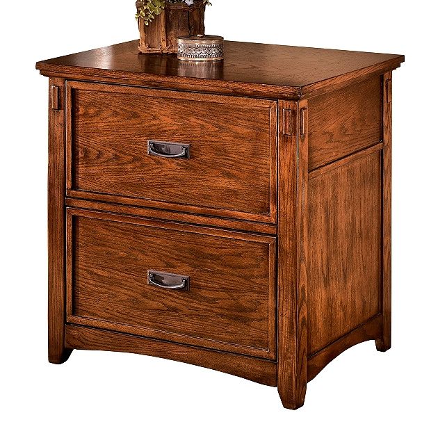 Mission Craftsman Oak Lateral File Cabinet. View Images