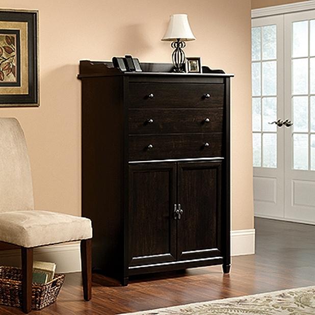 Warm Black Shaker Secretary Desk. View Images