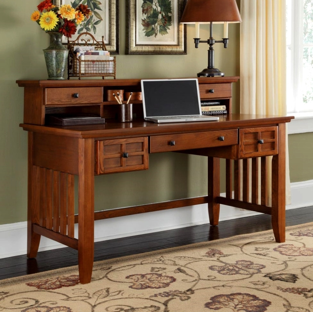 dalton corner computer desk sand oak. Mission Craftsman Executive Oak Computer Desk W/Hutch. View Images Dalton Corner Sand