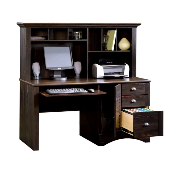 price black computer desks