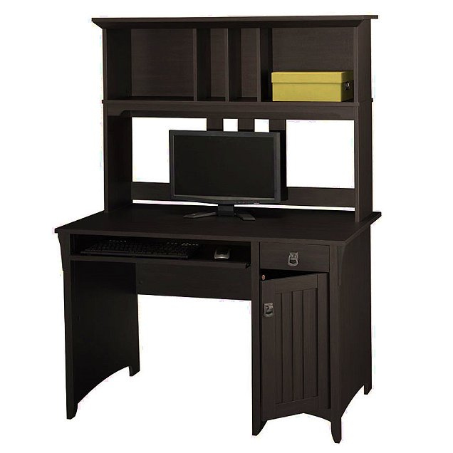 Mission furniture shaker craftsman furniture - Mission style computer desk with hutch ...
