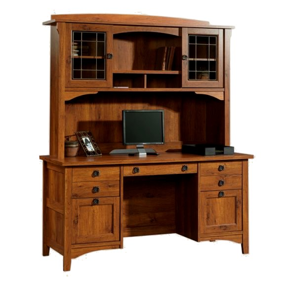 Stunning 30 mission style office furniture design ideas for Craftsman style office