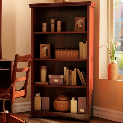 mission shaker cherry bookcase view images