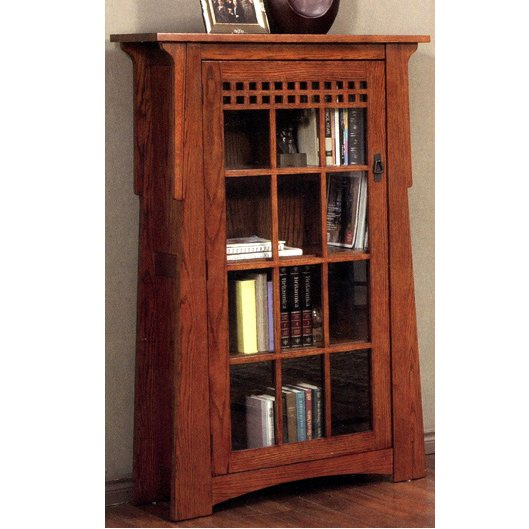 Craftsman style office library on pinterest gustav for Craftsman style office
