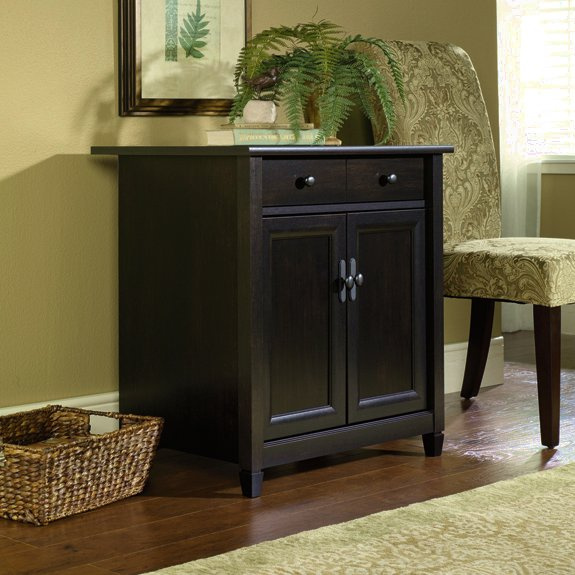 Cabinet Stand Printer & Black Warm black table Storage Shaker runners target