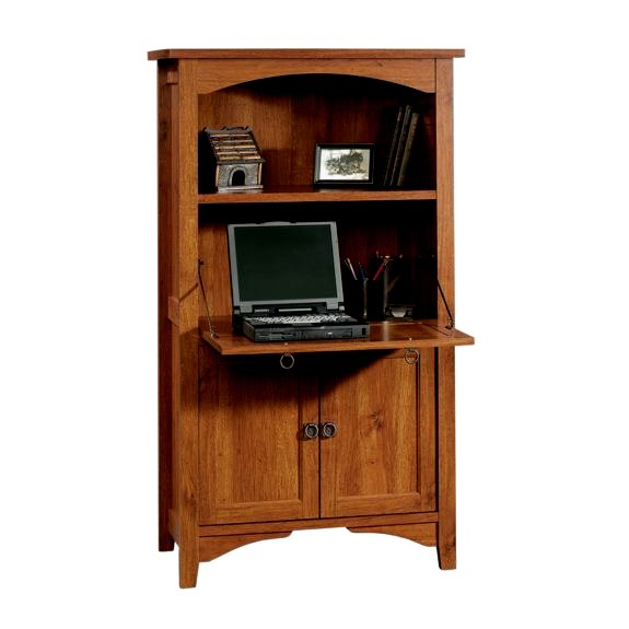 Original  Office Furniture Computer Armoires Computer Armoire In Abbey Oak