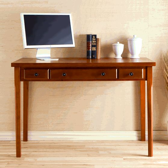 Shaker Style Gany Computer Desk View Images
