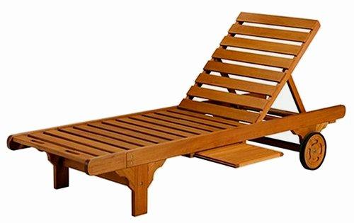 Teak Outdoor Furniture Steamer Lounge Patio Garden Chair