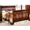 Craftsman Mission Shaker Cherry Queen Slat Bed