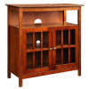 Mission Craftsman Cherry TV Stand Cabinet