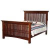 Mission Craftsman American Oak Queen Bed