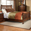 Mission Craftsman Oak Queen Bed