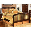 Mission Craftsman Shaker Queen Slat Bed