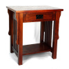 Mission Oak One Drawer End Table