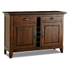 Mission Shaker Distressed Server Sideboard