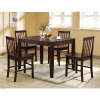 Mission Shaker Espresso 5pc Dining Set