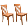 Mission Shaker Oak Sidechairs - Pair