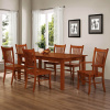 Mission Shaker Maple 7pc Dining Set