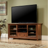 Cherry Mission Craftsman Shaker Entertainment Center