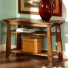 Craftsman Arts and Crafts Oak Console Table