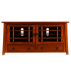 Mission Craftsman Mahogany Entertainment Center