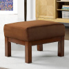Mission Craftsman Oak Morris Ottoman
