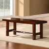 Mission Craftsman Oak Bench