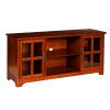 Mission Craftsman Oak Entertainment Center