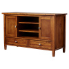 Mission Shaker Pine TV Stand