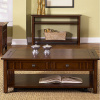 Mission Prairie Cherry Coffee Table