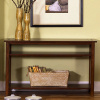 Mission Prairie Cherry Console Table