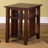 Mission Prairie Cherry End Side Table