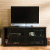 Mission Craftsman Black TV Stand