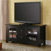 Shaker Mission Black TV Stand