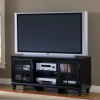 Craftsman Mission Shaker TV Stand in Black