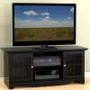 Black Mission Shaker TV Stand