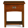 Quarter-Sawn Oak Mission Craftsman End Table