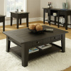 Shaker Cottage Mission Black Coffee Table